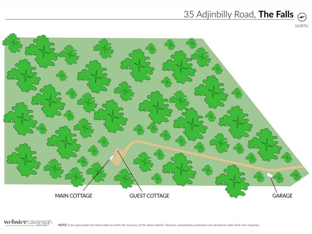 35 Adjinbilly Road The Falls - Qld