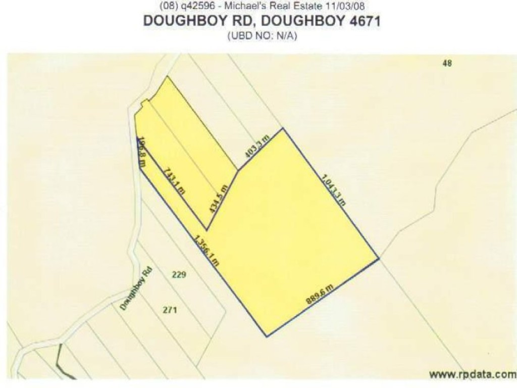 Farm for Sale - Lot 5 Doughboy Road, Doughboy QLD - Farm Property